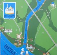 Карта Усть-Ижоры
