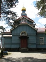 Церковь на Приморском шоссе